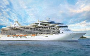 Live Cruise Ship Tracker for MS Riviera, Oceania Cruise Line