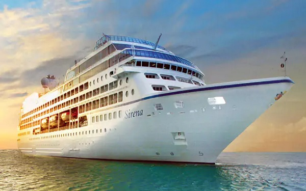 Live Cruise Ship Tracker for MS Sirena, Oceania Cruise Line