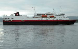 Live Cruise Ship Tracker for MS Vesterålen, Hurtigruten Cruises