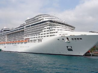 Live Cruise Ship Tracker for MSC Divina, MSC Cruises