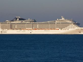 Live Cruise Ship Tracker for MSC Fantasia, MSC Cruises