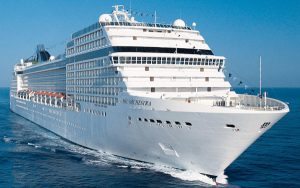 Live Cruise Ship Tracker for MSC Orchestra, MSC Cruises
