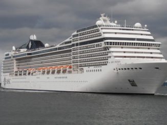 Live Cruise Ship Tracker for MSC Poesia, MSC Cruises