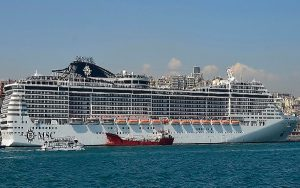 Live Cruise Ship Tracker for MSC Preziosa, MSC Cruises