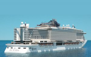 Live Cruise Ship Tracker for MSC Seaside, MSC Cruises