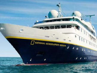 Live Cruise Ship Tracker for National Geographic Orion, Lindblad Expeditions