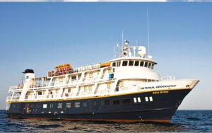 Live Cruise Ship Tracker for National Geographic Sea Bird, Lindblad Expeditions