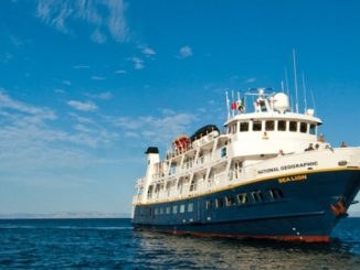 Live Cruise Ship Tracker for National Geographic Sea Lion, Lindblad Expeditions