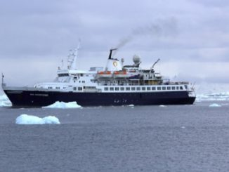 Live Cruise Ship Tracker for MV Sea Adventurer, Quark Expeditions