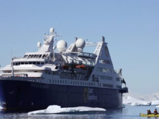 Live Cruise Ship Tracker for Ocean Diamond, Quark Expeditions