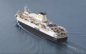 Live Cruise Ship Tracker for MS Ocean Endeavour, Quark Expeditions