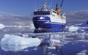 Live Cruise Ship Tracker for Ocean Nova, Quark Expeditions