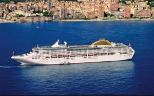 Live Cruise Ship Tracker for P&O Oceana, P&O Cruises