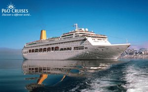 Live Cruise Ship Tracker for P&O Oriana, P&O Cruises