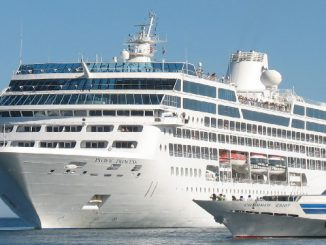 Live Cruise Ship Tracker for Pacific Princess, Princess Cruises