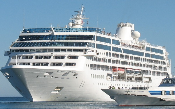 Live Cruise Ship Tracker For Pacific Princess, Princess