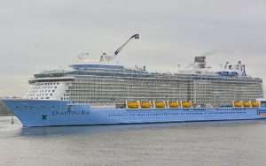 Live Cruise Ship Tracker for Quantum Of The Seas, Royal Caribbean Cruise Line