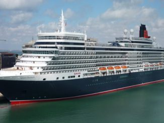 Live Cruise Ship Tracker for Queen Elizabeth, Cunard Cruise Line
