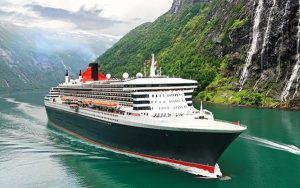 Live Cruise Ship Tracker for Queen Mary 2, Cunard Cruise Line