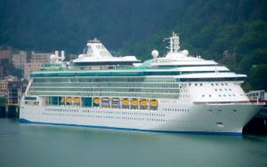 Live Cruise Ship Tracker for Radiance Of The Seas, Royal Caribbean Cruise Line