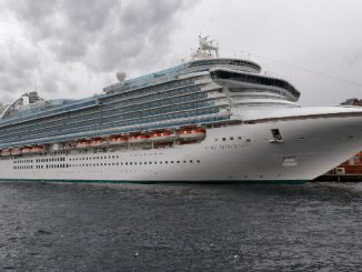 Live Cruise Ship Tracker for Ruby Princess, Princess Cruises