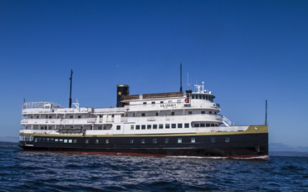 Live Cruise Ship Tracker for SS Legacy, Un-Cruise Adventures