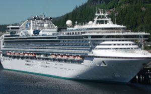 Live Cruise Ship Tracker for Sapphire Princess, Princess Cruises