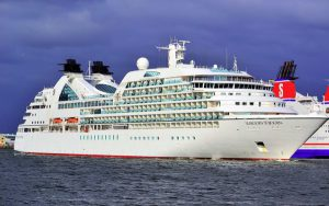 Live Cruise Ship Tracker for MV Seabourn Sojourn, Seabourn Cruises