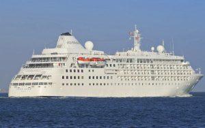 Live Cruise Ship Tracker for Silver Cloud, Silversea Cruises