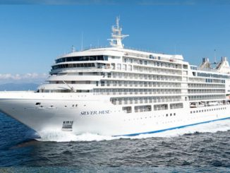 Live Cruise Ship Tracker for Silver Muse, Silversea Cruises