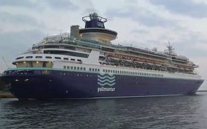 Live Cruise Ship Tracker for MS Sovereign, Pullmantur Cruises