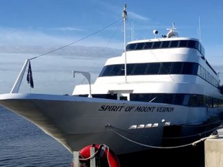 Live Cruise Ship Tracker for Spirit Of Mount Vernon, Spirit Cruises