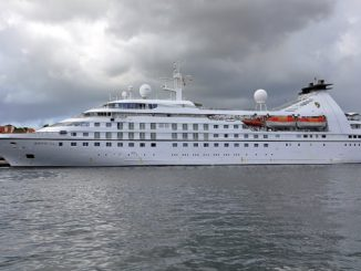 Live Cruise Ship Tracker for Star Pride, Windstar Cruises