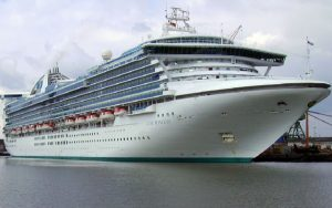 Live Cruise Ship Tracker for Star Princess, Princess Cruises