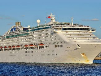 Live Cruise Ship Tracker for Sun Princess, Princess Cruises