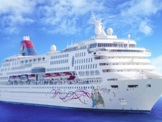Live Cruise Ship Tracker for SuperStar Gemini, Star Cruises