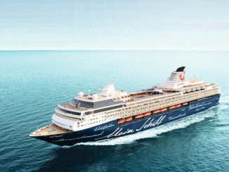 TUI Mein Schiff 1 Cruise Ship Tracker App, vessel tracker by name and live cruise ship positions TUI Cruise Line