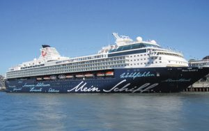 Live Cruise Ship Tracker for Mein Schiff 2, TUI Cruises