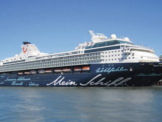 TUI Mein Schiff 2 Cruise Ship Tracker App, vessel tracker by name and live cruise ship positions TUI Cruise Line