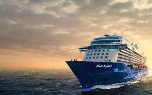 Live Cruise Ship Tracker for Mein Schiff 5, TUI Cruises