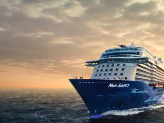 TUI Mein Schiff 5 Cruise Ship Tracker App, vessel tracker by name and live cruise ship positions TUI Cruise Line