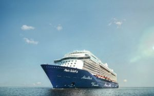 Live Cruise Ship Tracker for Mein Schiff 6, TUI Cruises