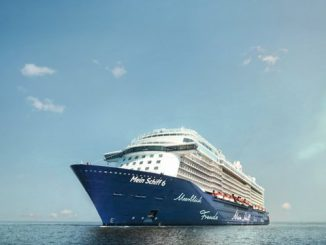 TUI Mein Schiff 6 Cruise Ship Tracker App, vessel tracker by name and live cruise ship positions TUI Cruise Line