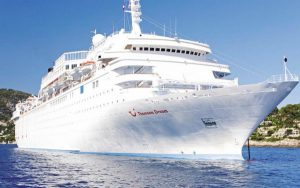 Live Cruise Ship Tracker for Marella Dream, Marella Cruises