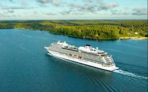 Live Cruise Ship Tracker for Viking Star, Viking Cruises