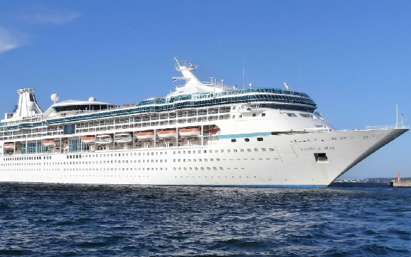Live Cruise Ship Tracker For Vision Of The Seas Royal Caribbean - Royal caribbean ship tracker