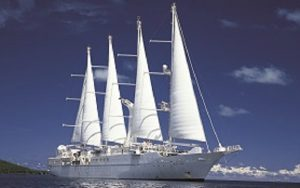 Live Cruise Ship Tracker for Wind Spirit, Windstar Cruises