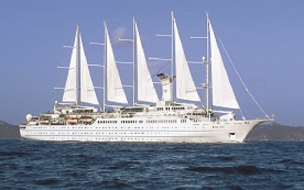 Live Cruise Ship Tracker for Wind Surf, Windstar Cruises