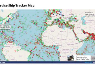 Live Cruise Ship Tracker Map Cruise Ship Tracker Real Time Cruise Ship Tracking Vessel Finder