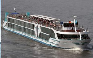 Live Cruise Ship Tracker for MS Alina, Phoenix Reisen River Cruises